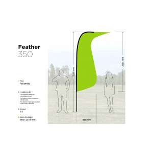 Feather 350x75