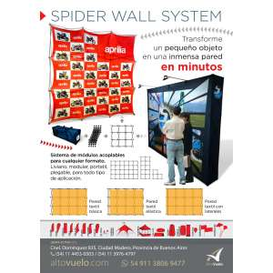 Spider Wall System 280x420